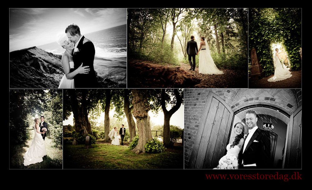 Sohngaardsholm Slot bryllup