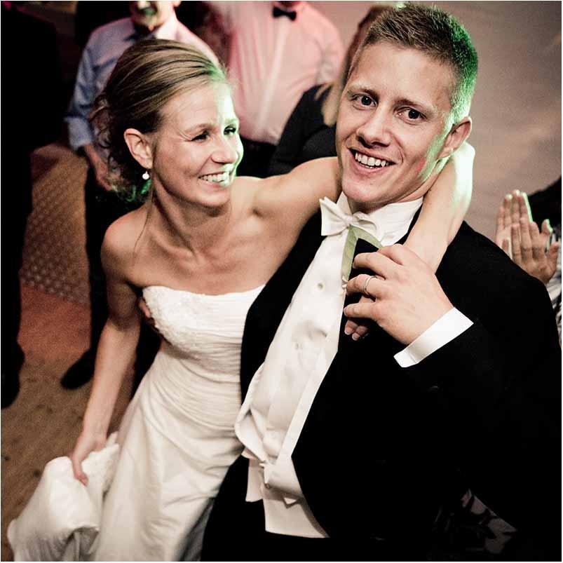 Afslappet bryllupsfotografering